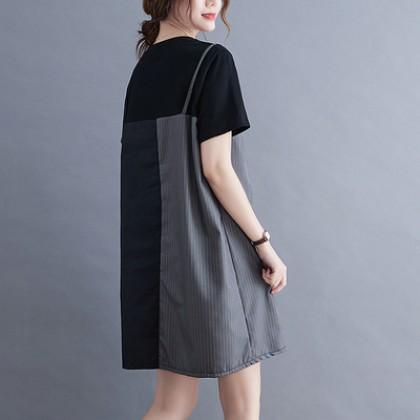 202109-VX300486-MEDIUM & PLUS SIZE DRESS 中大码女装连身裙