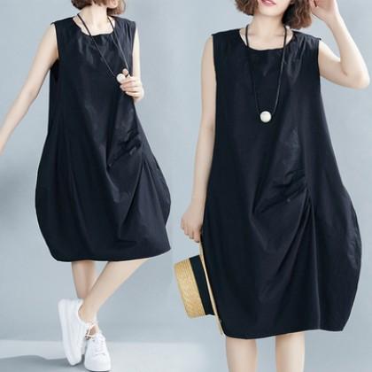 202109-VX300490-MEDIUM & PLUS SIZE DRESS 中大码女装连身裙